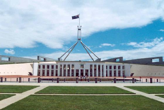 The structure of Federal Parliament